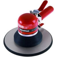 The smooth strength and power of this air-geared orbital sander lets you remove heavy material and body filler on large, flat surfaces, leaving a clean, swirl-free finish.